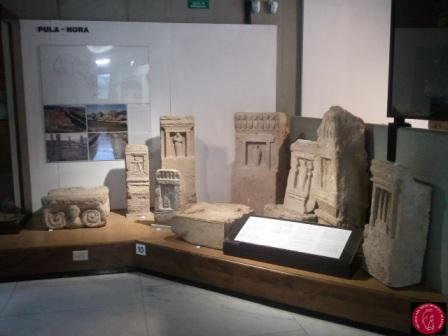 Stele con Tanit, esposizione presso Museo Archeologico Nazionale di Cagliari