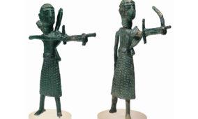 Bronzetti di arcieri da Sardara