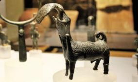 Bronzetto di toro androcefalo da Nule