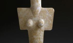 Statuina in marmo da Turriga - Senorbì