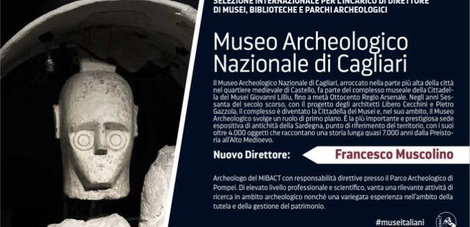 Francesco Muscolino è il nuovo direttore del Museo Archeologico di Cagliari